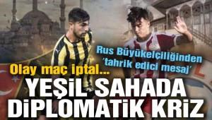 İstanbulspor'un Kırım ekibiyle oynayacağı maç iptal… Rus Büyükelçiliğinden 'tahrik edici mesaj'!