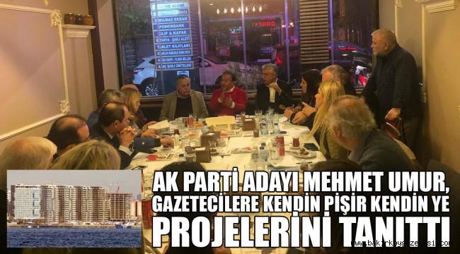 AKP Başkan Adayı Mehmet Umur, Ulusal Medya Temsilcileri ile Buluştu
