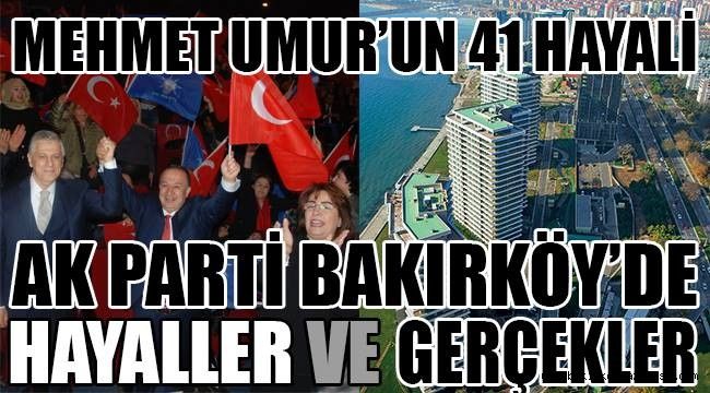 Mehmet Umur'un 41 Hayali