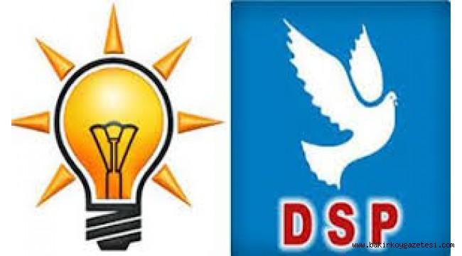 Sosyal medya bu videoyu konuşuyor: DSP aracında AKP broşürleri
