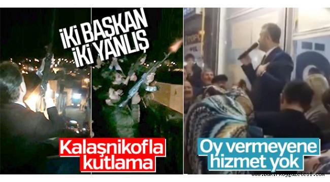 AKP 'DE İKİ BAŞKAN İKİ YANLIŞ