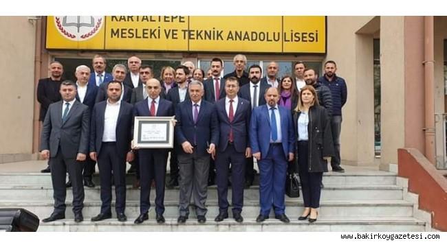 BAŞKAN DR. KERİMOĞLU MAZBATASINI ALDI!