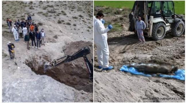 Eski başkanın cesedi toprak altından çıkarıldı!