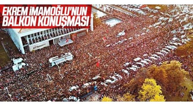 İBB Başkanı Ekrem İmamoğlu: 'İstanbul için yeni bir başlangıç' deyin