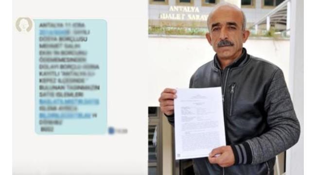 İcra mesajını akrabalarına gönderdiği için şikayet etti: Avukat hapse girebilir