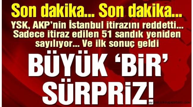 İstanbul'da seçim sonuçlarında son durum: İlk sandık sayıldı, AKP'nin oyu azaldı