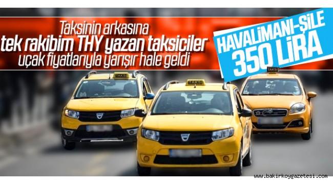 İstanbul Havalimanı'na taksi ücreti hangi ilçeden ne kadar tutar? (İstanbul Havalimanı ilçe ilçe taksi ücretleri)