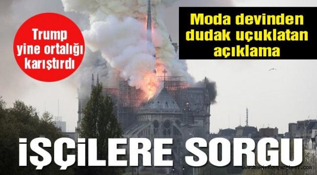 Son dakika… Notre Dame Katedrali yangından 8.5 saat sonra söndürüldü