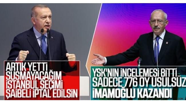 AK Parti ve CHP'den art arda İstanbul açıklaması