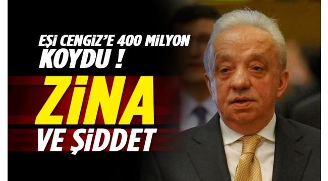 AKP'li Mehmet Cengiz'e boşanma davası: Zina ve şiddetli geçimsizlik