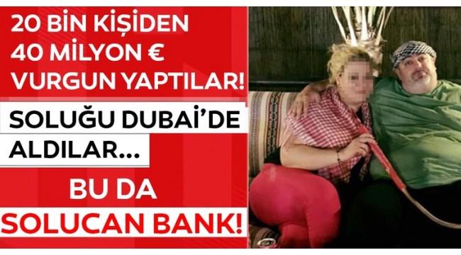 Çiftlik Bank'ın ardından Solucan Bank yöntemiyle 40 milyon € vurgun yaptılar! Dubai'deki o kareler...