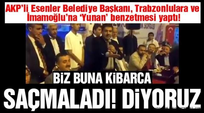 Esenler Belediye Başkanı Tevfik Göksu, Trabzonlulara