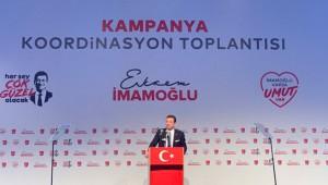 İmamoğlu, seçim kampanyasını başlattı: Bu düzen bir avuç insan için var, bunu değiştireceğiz!