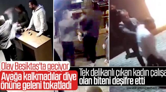 Meydan Beşiktaş'taki şiddetin görüntüleri ortaya çıktı
