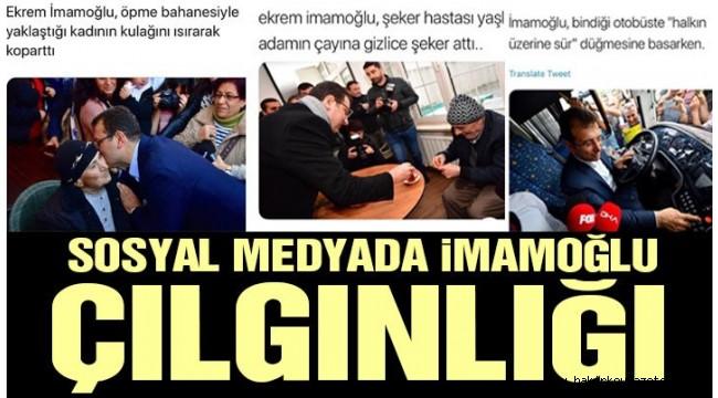 Sosyal medyada İmamoğlu çılgınlığı… O da 'tokat attı' capslerine dahil oldu