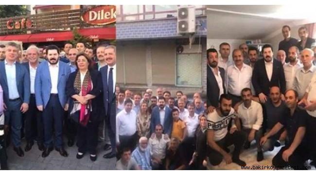 Ağrı'yı sel vurdu ama Başkan Sayan Bakırköy'de  seçim çalışmasında!