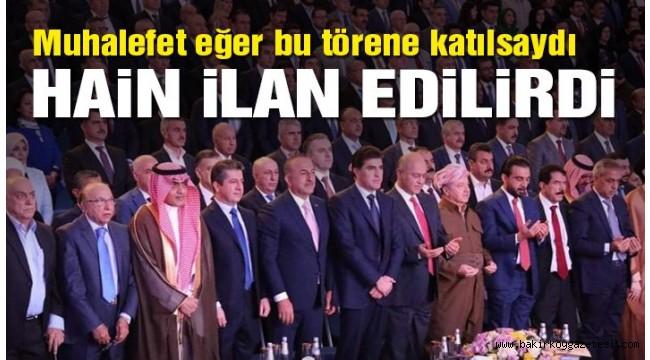 AKP'li Çavuşoğlu'dan 'Kürdistan şehitleri' için saygı duruşu