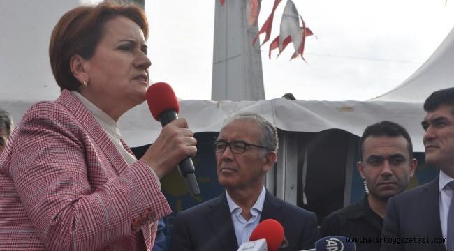 Akşener Bakırköy'de
