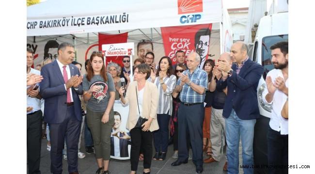 BAKIRKÖY'DE CHP RÜZGARI