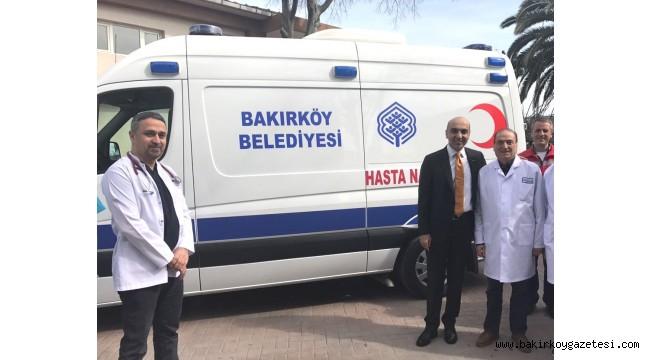 BAKIRKÖY'DE SEÇİMDE ENGELLİ VE YAŞLILARA AMBULANS