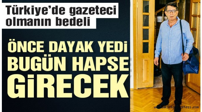 Gazeteciye dayak yetmedi bir de cezaevine atılıyor!