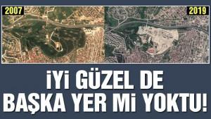 Şehir hastanesi için binlerce ağaç katledildi