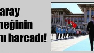 AKP Genel Başkanı Saray ödeneğinin iki katını harcadı!