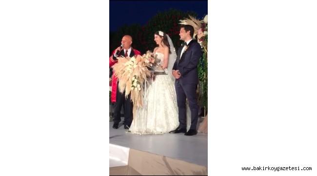 Ali Gültiken kızını evlendirdi!
