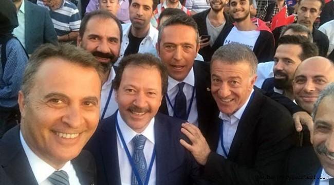 Başkanlar 15 Temmuz'da bir arada