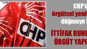CHP'de örgütsel yenilenme için düğmeye basıldı!