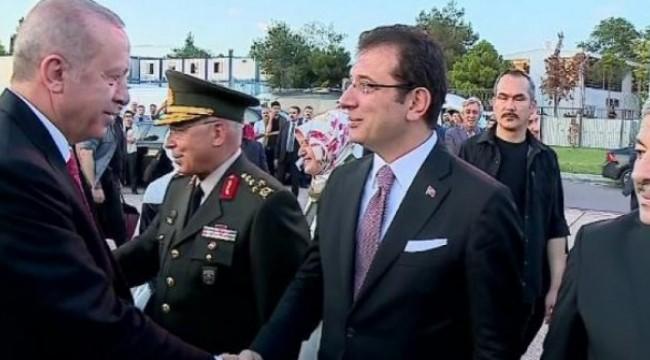 Son dakika… İmamoğlu, Erdoğan'ı protokolde karşıladı!