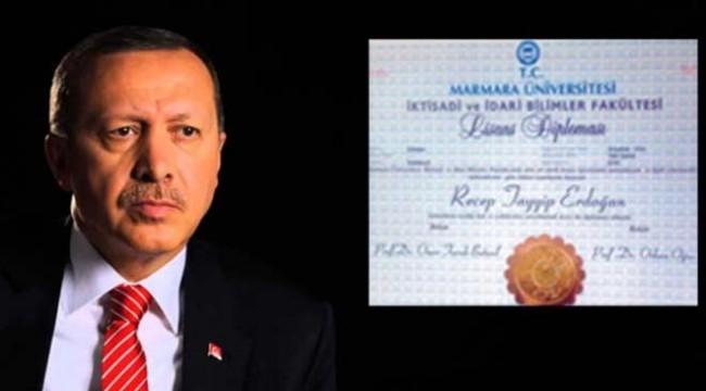 YSK'dan Erdoğan'ın diplomasına ilişkin karar
