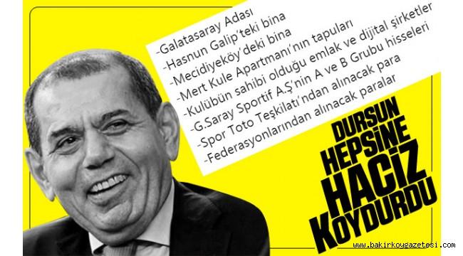 Başkan'dan Galatasaray'a haciz işlemi