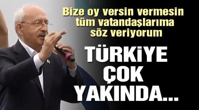 Kılıçdaroğlu: Türkiye çok yakında daha güzel bir yolun başında yürüyecek