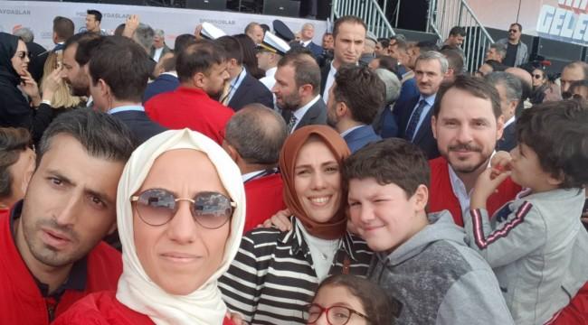 BAKIRKÖY'DE ERDOĞAN AİLESİ  TEKNOFEST'TE !