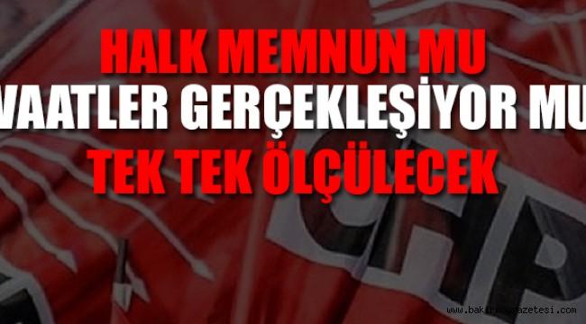 CHP belediyelerini 'teftiş' edecek