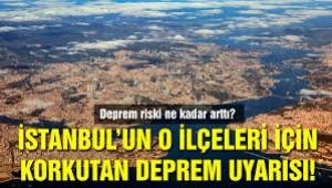 Dikkat! 'İstanbul'un denize yakın ilçelerinde deprem tehlikesi arttı'