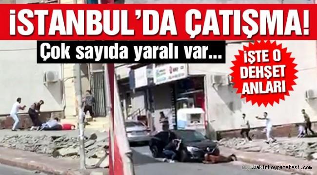 İstanbul'da çatışma: 6 yaralı