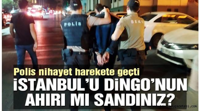 İstanbul'da 'değnekçi' operasyonu: 18 gözaltı