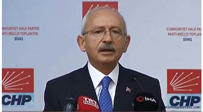 Kılıçdaroğlu'ndan Sivas Kongresi'nin 100. yılında manifesto gibi konuşma!