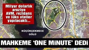 Küçükçekmece 'de  bir milyon metrekarelik arazinin imar planı iptal edildi!