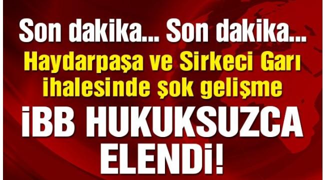 AKP İKTİDARINDA DEĞİŞEN BİRŞEY YOK ! İBB İHALEDEN ELENDİ