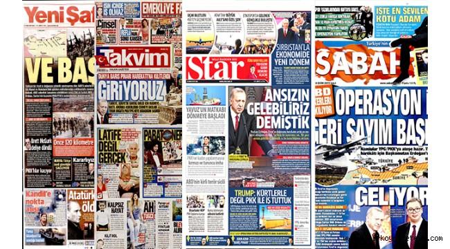 AKP medyası burada değil! Trump bizi tehdit etmemiş gibi   !!!