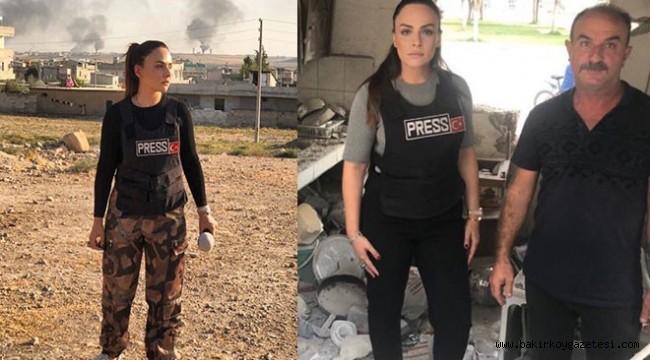 İletişim Başkanlığı'ndan 'Buket Aydın'a kıyafet uyarısı
