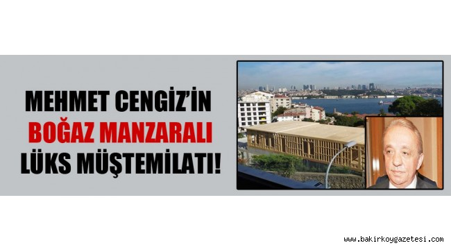 İşadamı Mehmet Cengiz'in aldığı Hüseyin Avni Paşa Korusu'nda skandallar bitmiyor.