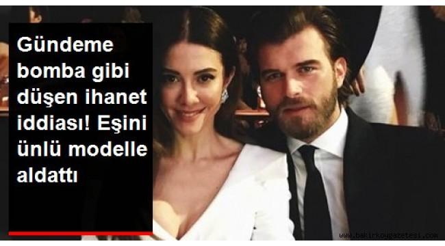 Kıvanç Tatlıtuğ'un eşi Başak Dizer'i ünlü model Sara Sampaio ile aldattığı iddia edildi