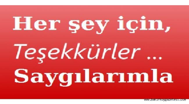 YAZARIMIZ  E.ALBAY TAHSİN ATAİZİ'NDEN MARMARA ÜNİVERSİTESİNE TEŞEKKÜRLER!