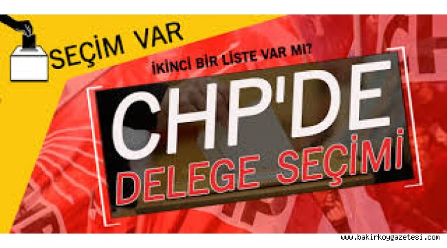 Bakırköy CHP 'de  delege seçimlerinde ,Beyaz Liste'yi hazırlayanlar  Algı Operasyonu mu yapıyor!