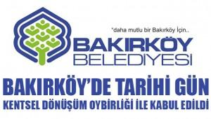 Bakırköy'de tarihi gün