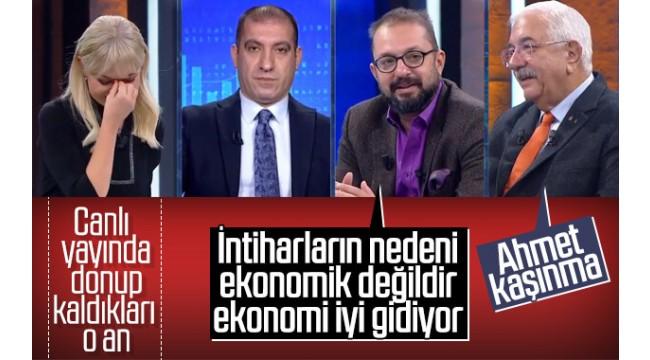 Canlı yayında siyanür intiharlarında AKP'li Ekonomik değildir, çünkü ekonomi iyi!